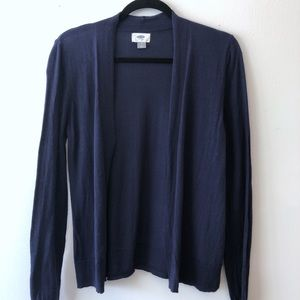 Old Navy Open Front Cardigan | Small | Navy Blue